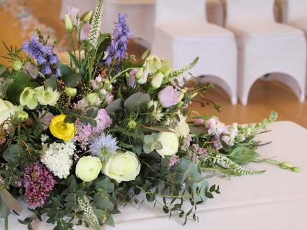 Fiorella Florals table arrangement