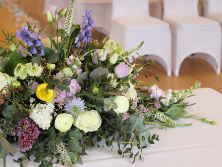 Fiorella Florals table arrangement