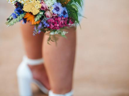 Fiorella Florals wedding bouquet
