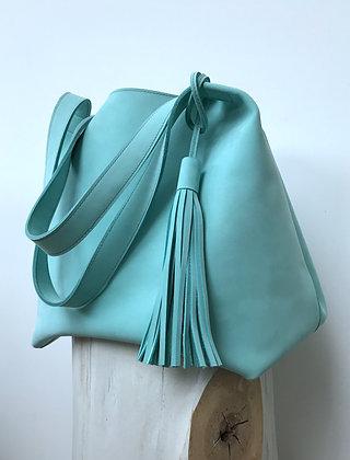 Nubuck Hobo Bag