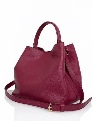 Leather Bucket Bag - Medium