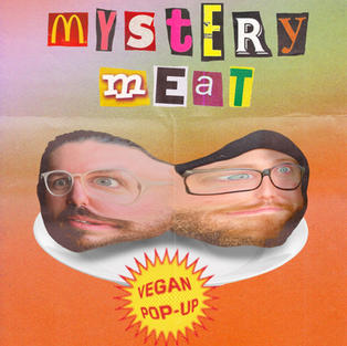 Mystery Meat Pop-Up Poster