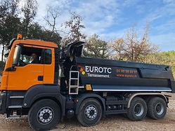 camion eurotc 8x4 terrassement cabasse