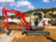 Pelle eurotc 10 T terrassement cabasse