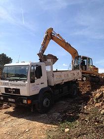 camion 4x2 eurotc terrassement cabasse