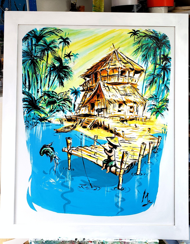 """Beach Hut"""