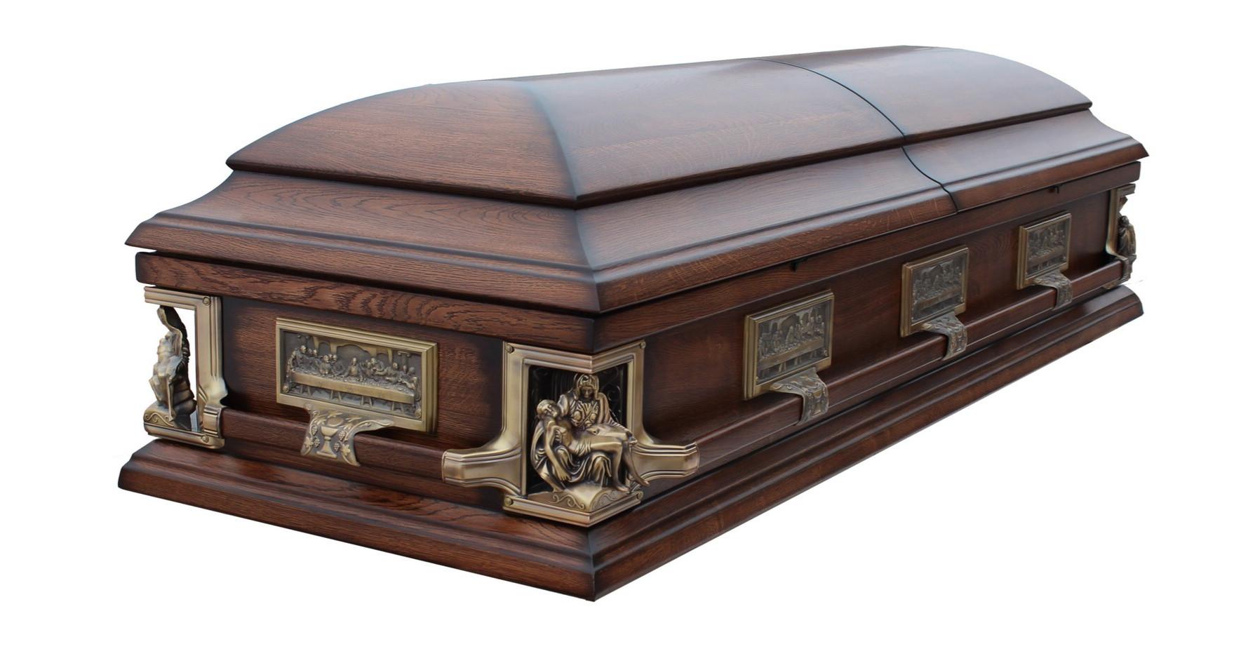 """Гроб """"Pieta"""" дубовый"""