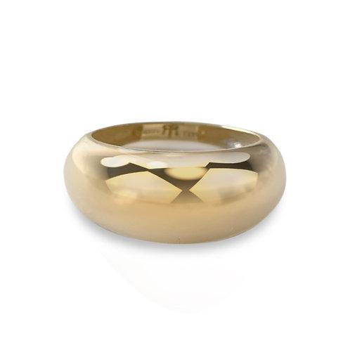 Elsa Rounded Signet Ring