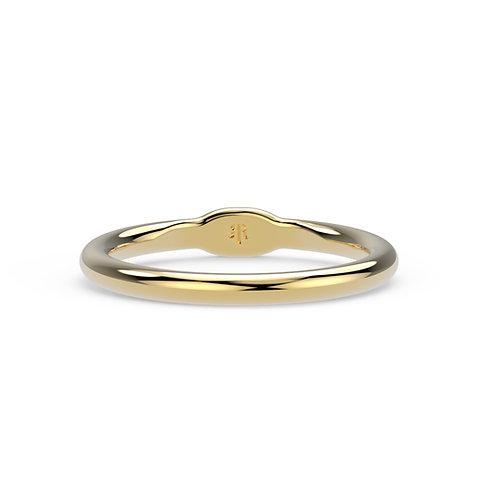 Joan Chunky Hoop Ring