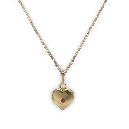 Jasmine Heart Necklace
