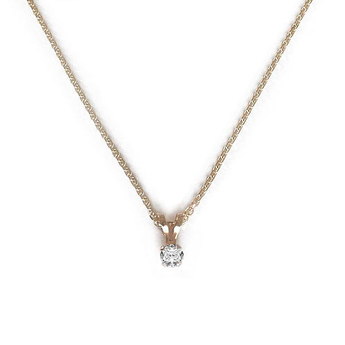 Audrey Diamond Necklace