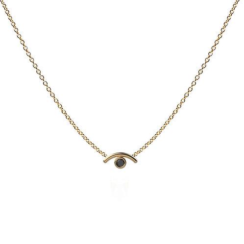 Mathilde Gem Eye Necklace