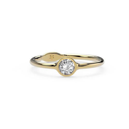 Mathilde Rounded Gem Ring