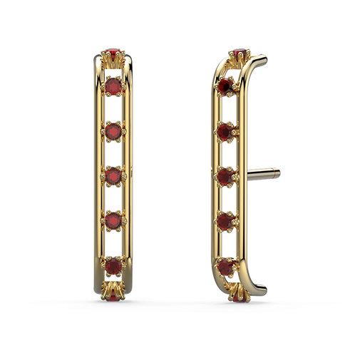 Blanche Cuff Earrings