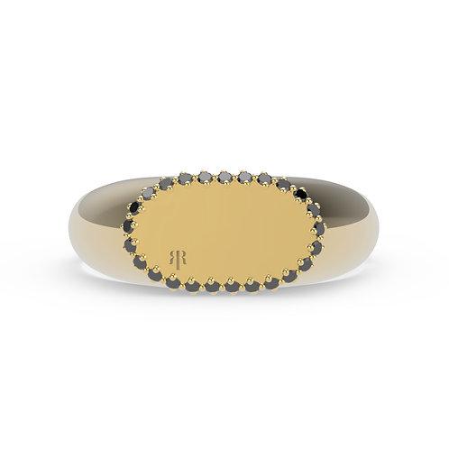 Margrethe Signet Gems Ring