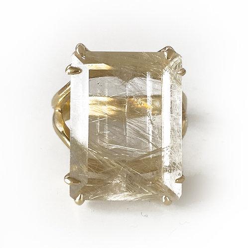 Melissa Gold Quartz Ring