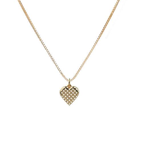 Artemisia 14K Heart Necklace