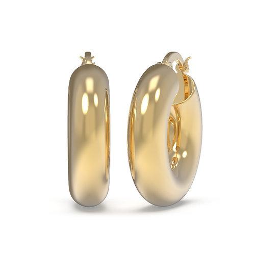 Silvia Very Chunky Hoop Earrings