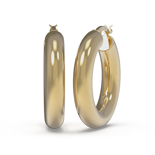 Julie Hoop Earrings