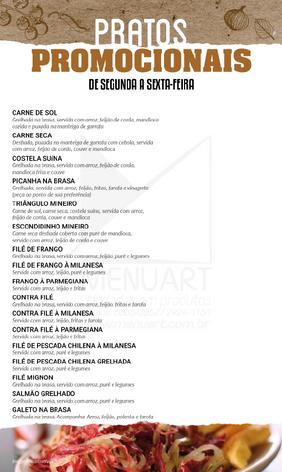 Cardápio - Gamela Mineira