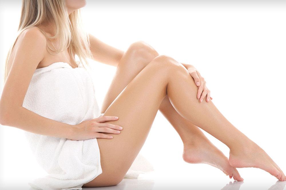 Woman Full Body Waxing