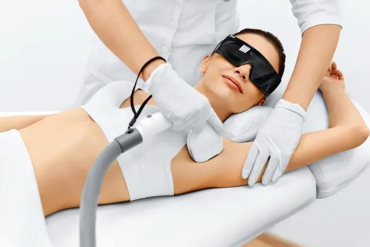 Underarm Laser Hair Reduction