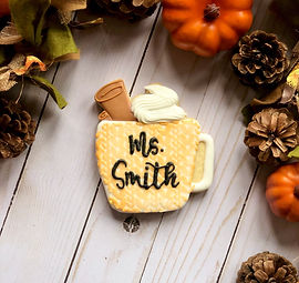 Teacher Custom Cookie