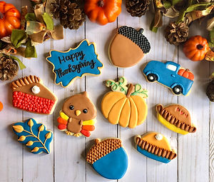 Thanksgiving Custom Cookie