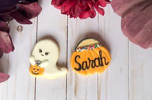 Ghose Pumpkin Cookies