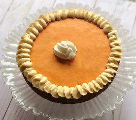 Pumpkin Pie Chocolate Chip Cookie Cake