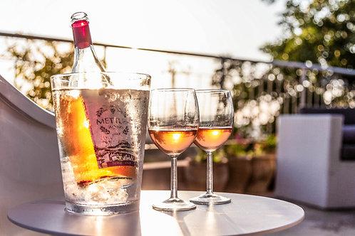 בקבוק יין רוזה