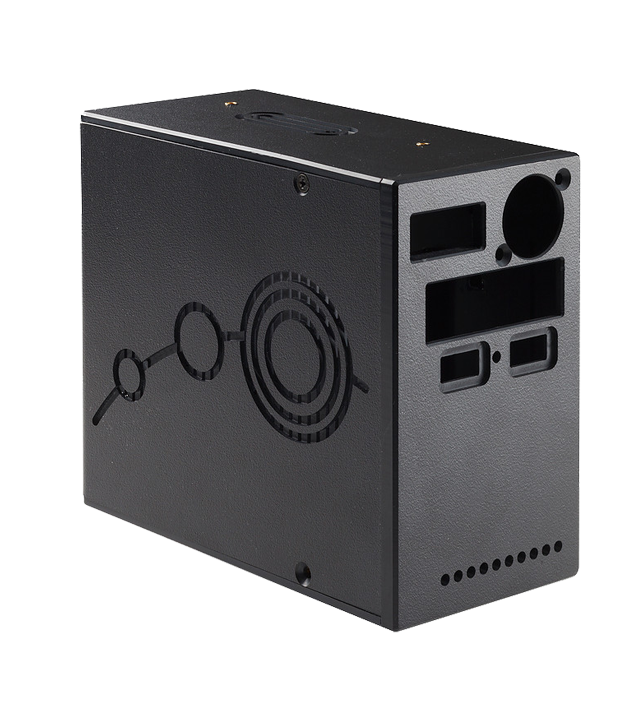 Custom plastic electronics case