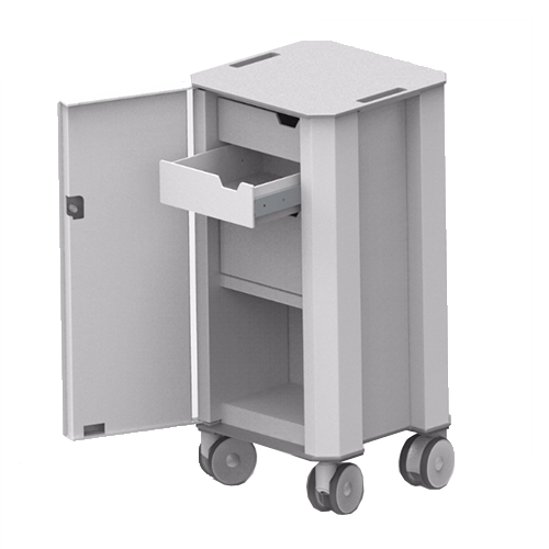 ABS surgical trolley