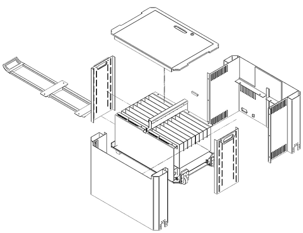 Custom troley enclosure