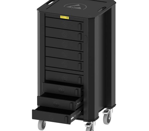 Nuwco ESD Drawer Trolley Standard Height