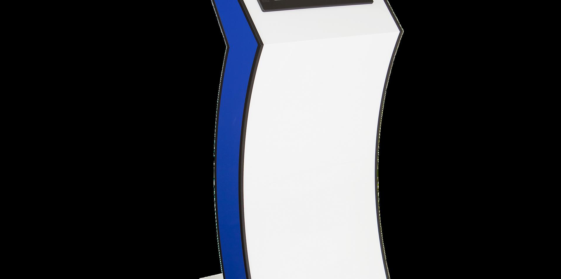 Custom floor standing kiosk