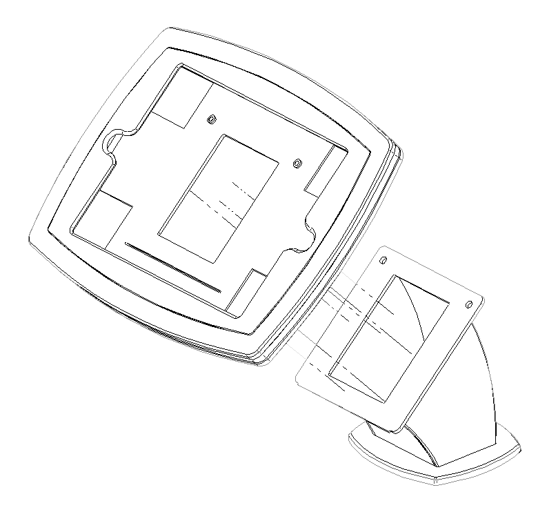 Tablet Wall Mount Enclosure open.png