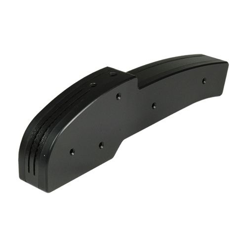 Custom plastic handset