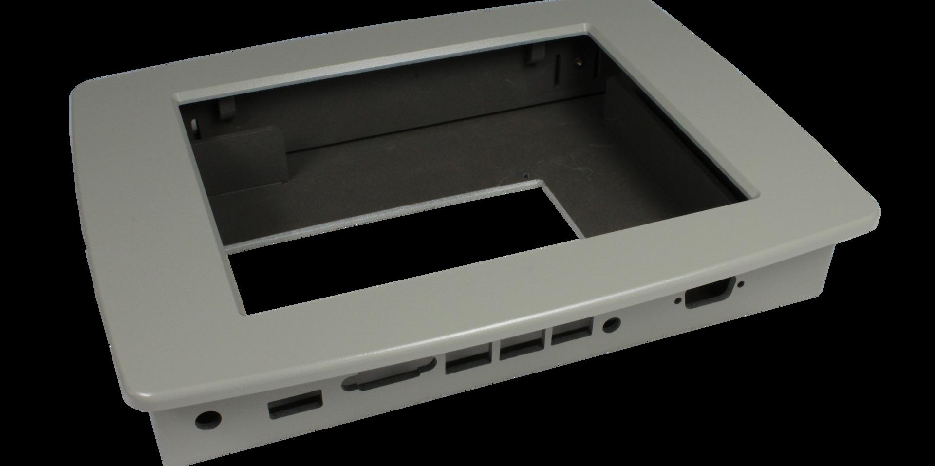 Custom ABS touchscreen enclosure