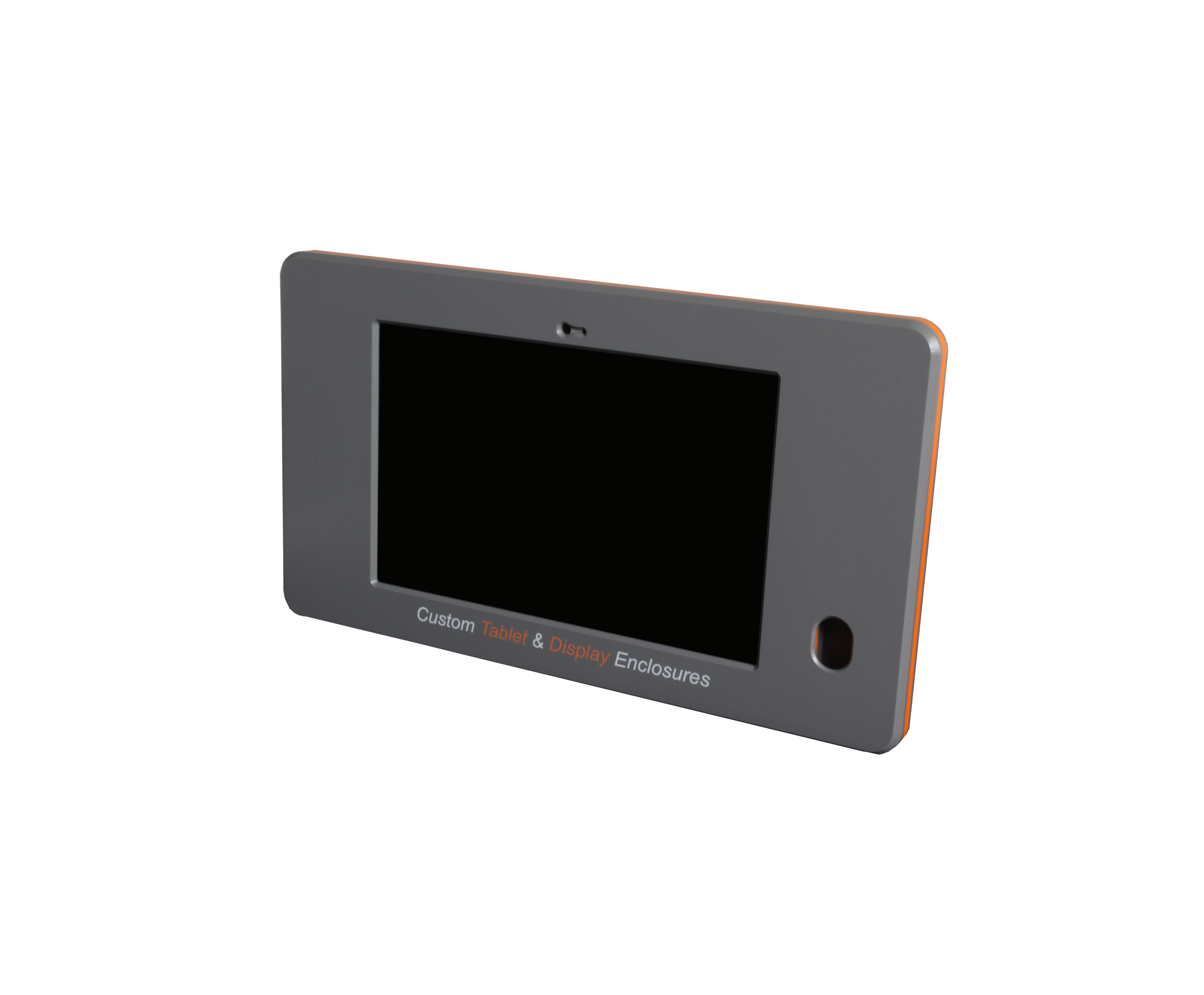 Fabricated plastic tablet enclosure