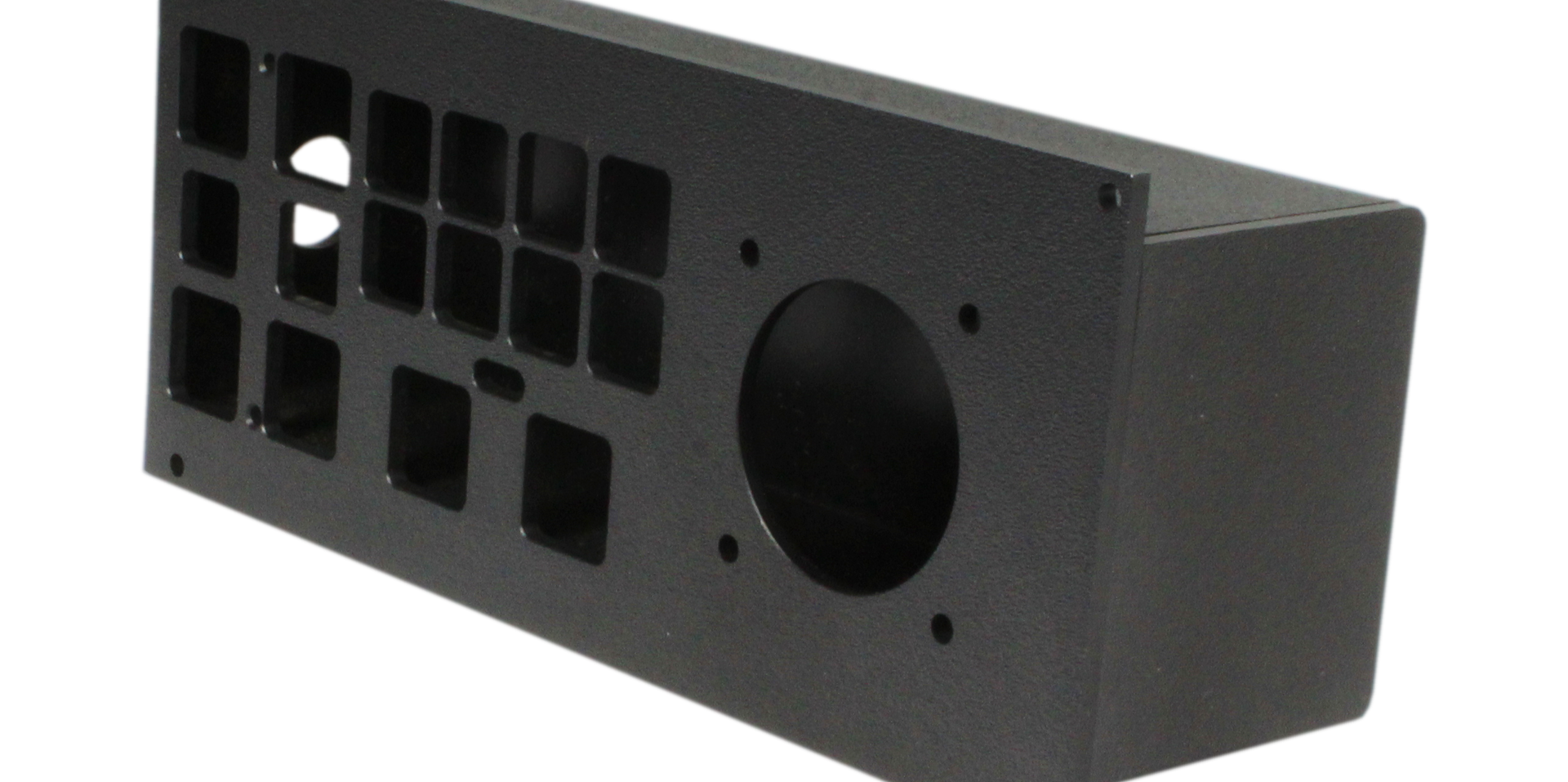 Custom panel mount enclosure
