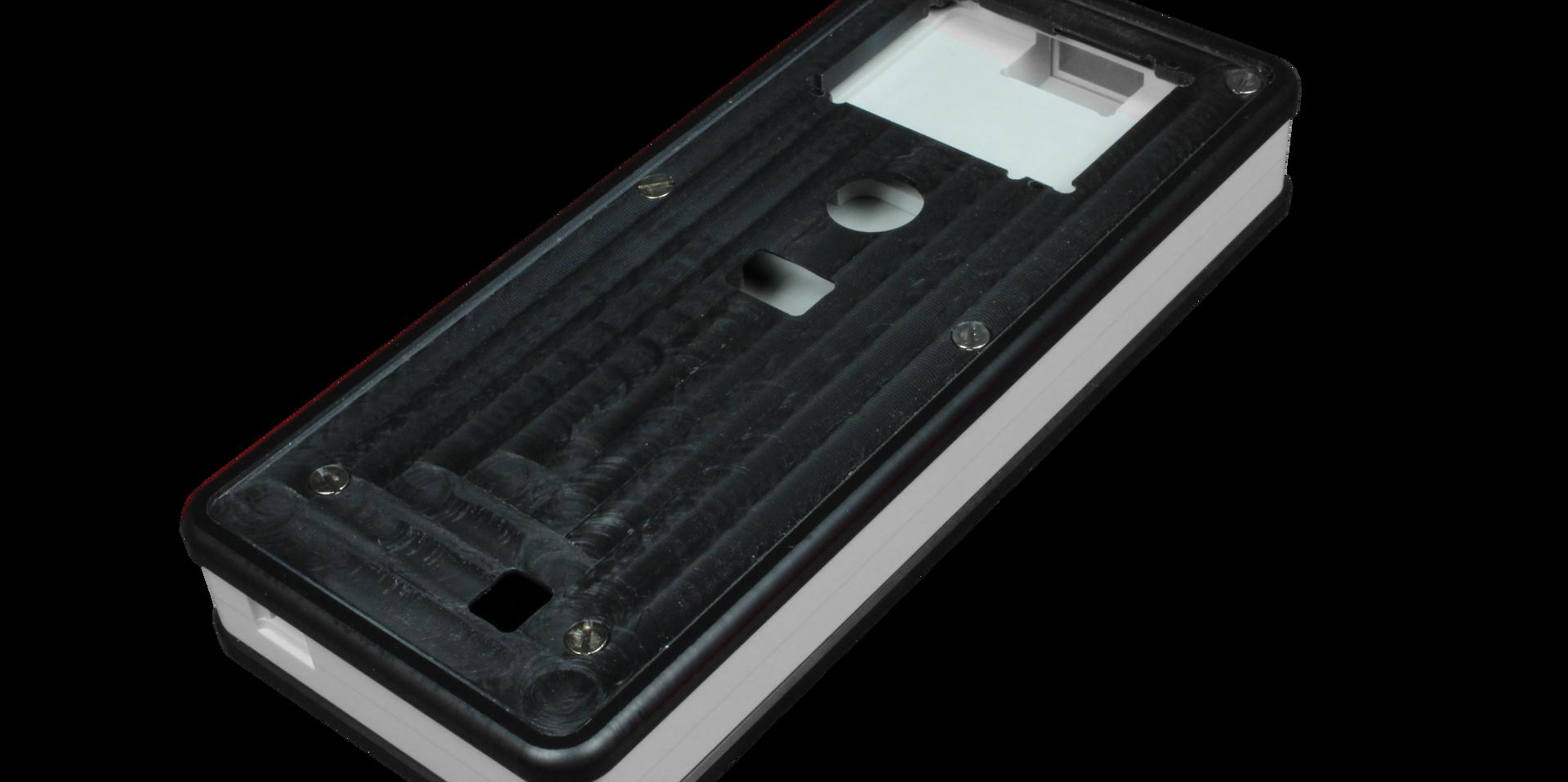 Custom handheld plastic enclosure