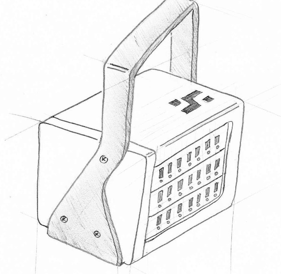 Custom ABS electronics enclosure