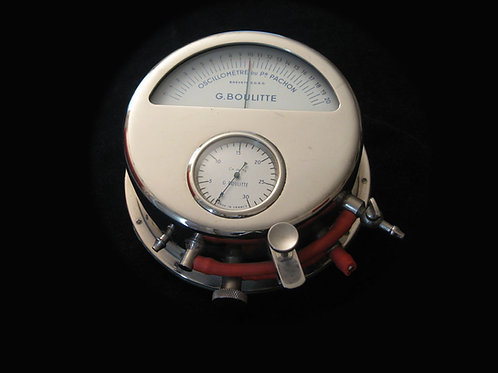 Oscillometre de Pachon, Circa 1962