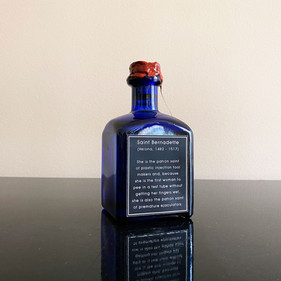 Sacred Oil from the Vagina of Sainte Bernadette