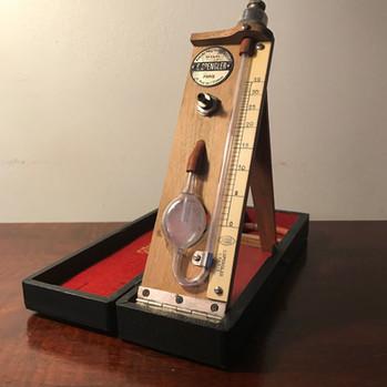 1923 Spengler water-based sphygmomanometer