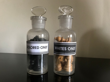 WHITES ONLY / COLORED ONLY