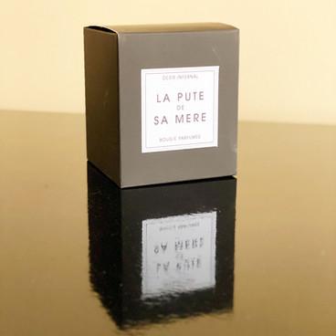 Perfumed Candle - La Pute de sa Mère