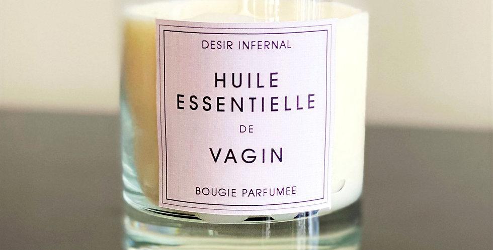 Huile Essentielle de Vagin - Perfumed Candle