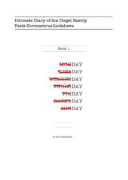 Coronavirus Diary
